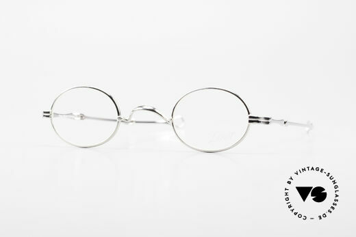 Lunor I 04 Telescopic Oval XS Glasses Slide Temples Details