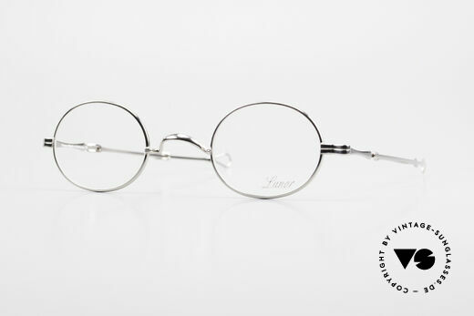 Lunor I 10 Telescopic Oval Eyeglasses Slide Temples Details