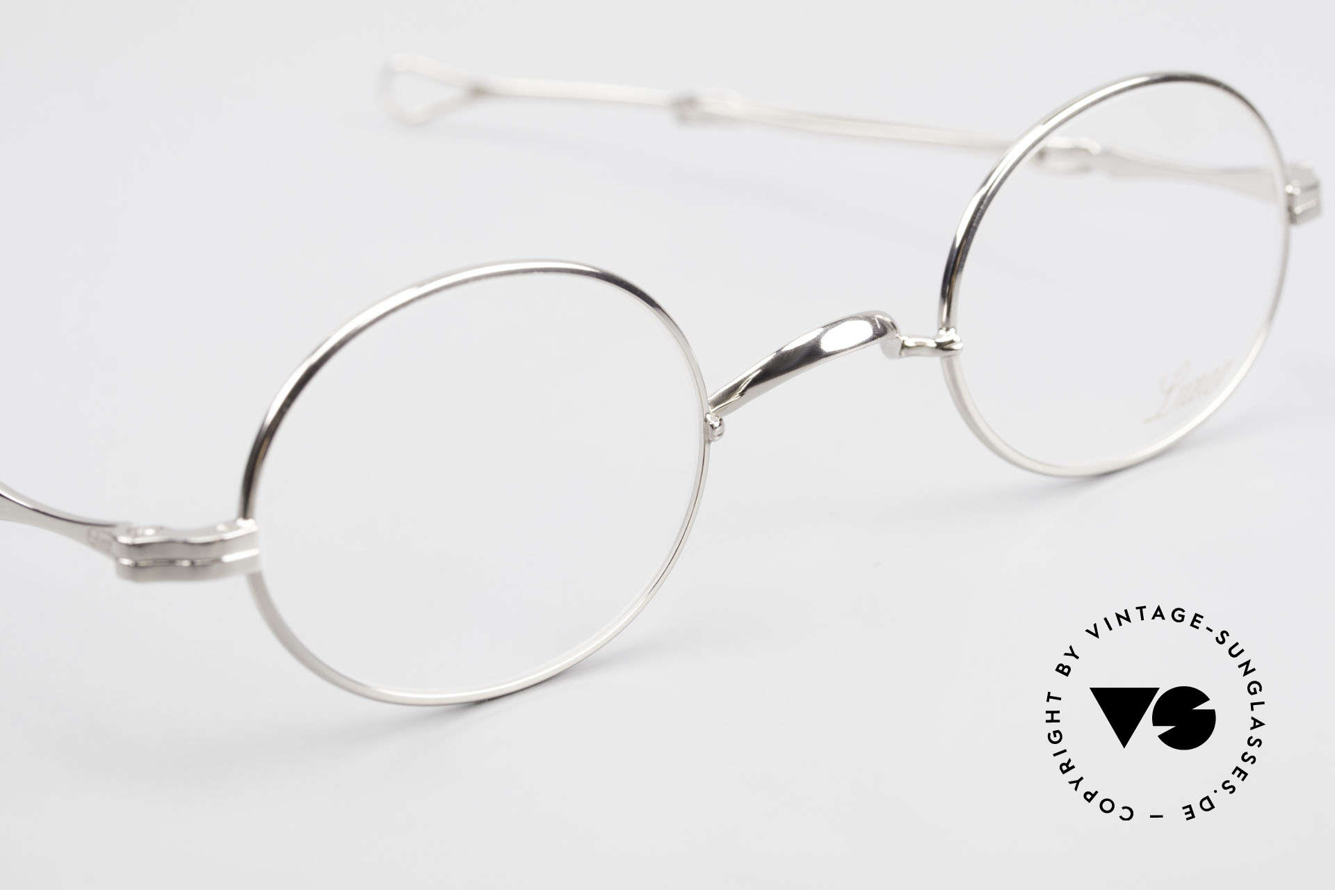 Lunor I 10 Telescopic Oval Eyeglasses Slide Temples, unworn RARITY (for all lovers of quality) from app. 1999, Made for Men and Women
