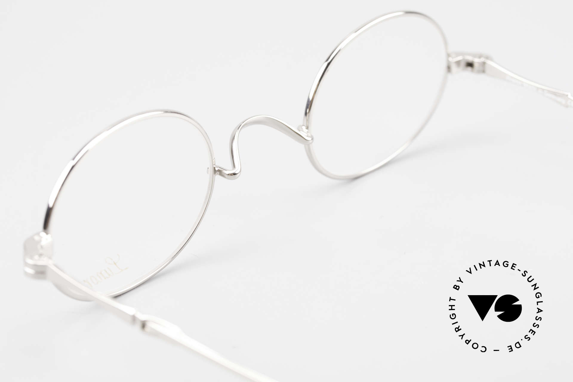 Lunor I 10 Telescopic Oval Eyeglasses Slide Temples, Size: small, Made for Men and Women