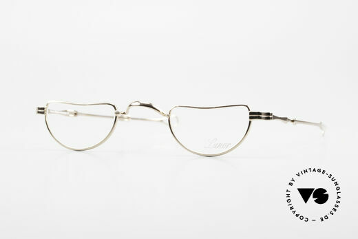 Lunor I 07 Telescopic Extendable Gold Plated Glasses Details