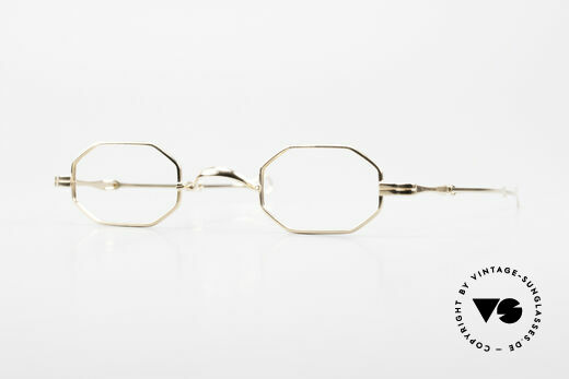Lunor I 01 Telescopic Octagonal Frame Gold Plated Details