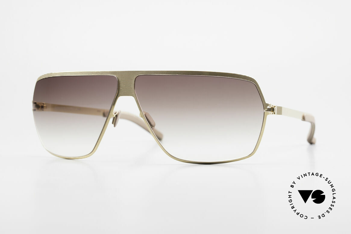 Mykita Rock Vintage No 1 Collection 2009, original VINTAGE MYKITA men's sunglasses from 2009, Made for Men
