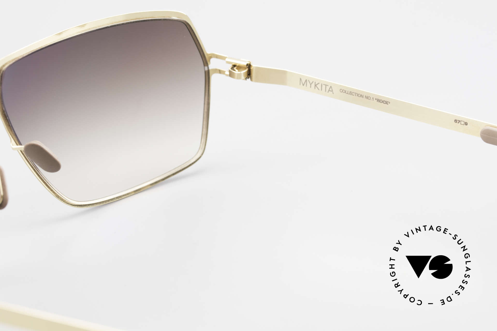 Mykita Rock Vintage No 1 Collection 2009, thus, now available from us (unworn and with orig. case), Made for Men