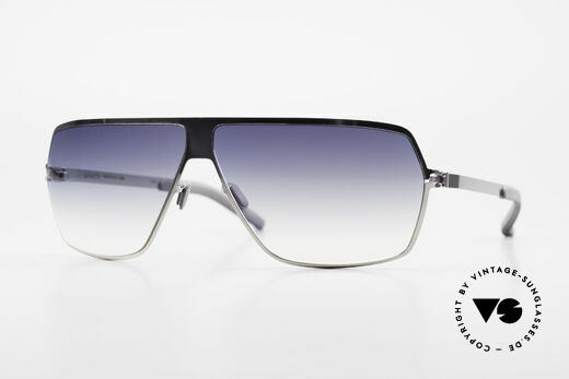 Mykita Rock No1 Designer Sunglasses 2009 Details