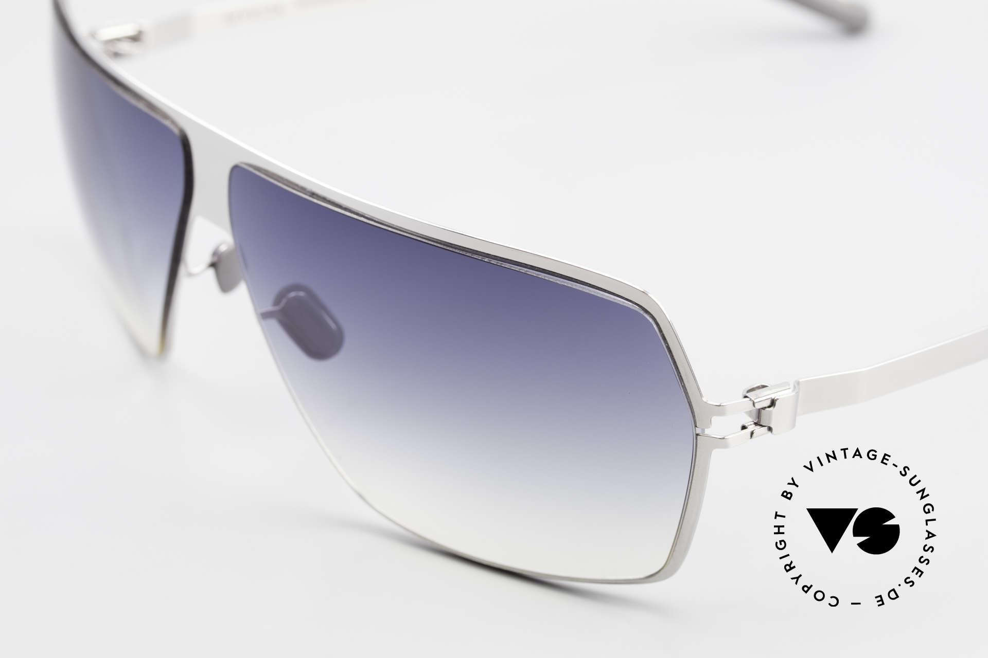 Mykita Rock No1 Designer Sunglasses 2009, flexible metal frame = innovative and elegant likewise, Made for Men