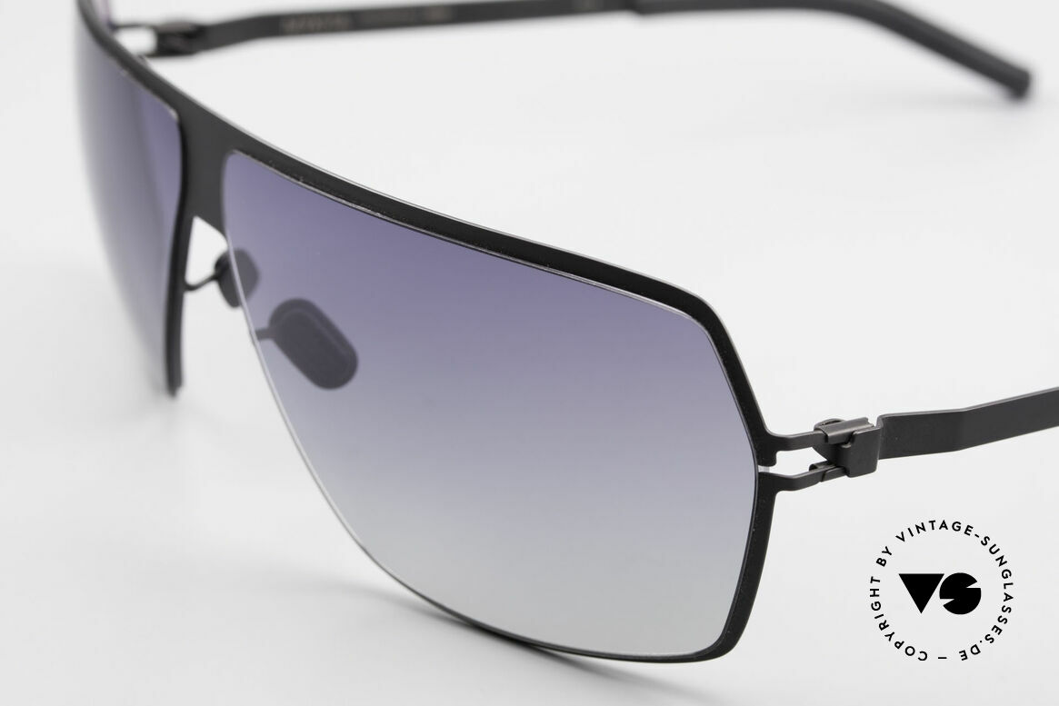 Mykita Rock No1 Men's Sunglasses 2009, flexible metal frame = innovative and elegant likewise, Made for Men