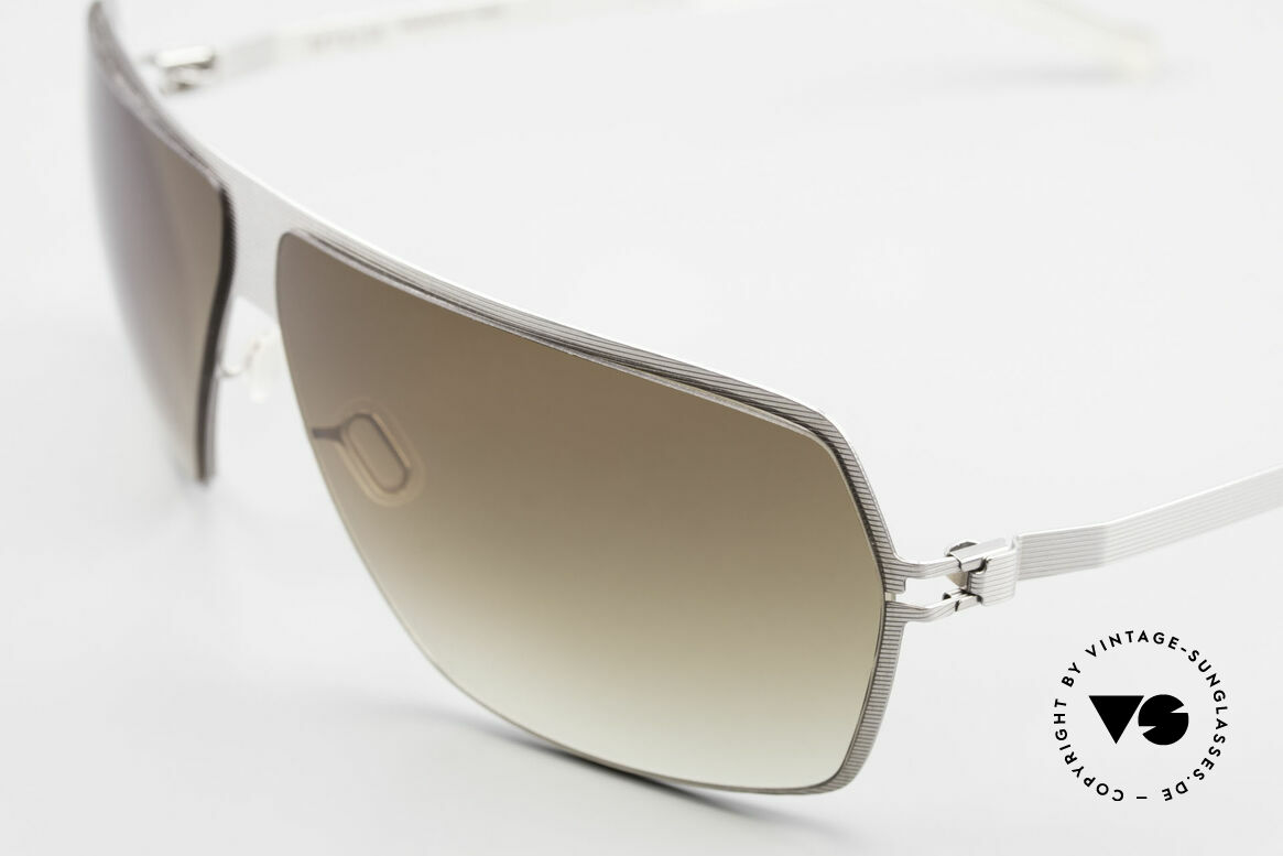 Mykita Rock No1 Collection Sunglasses 2009, flexible metal frame = innovative and elegant likewise, Made for Men