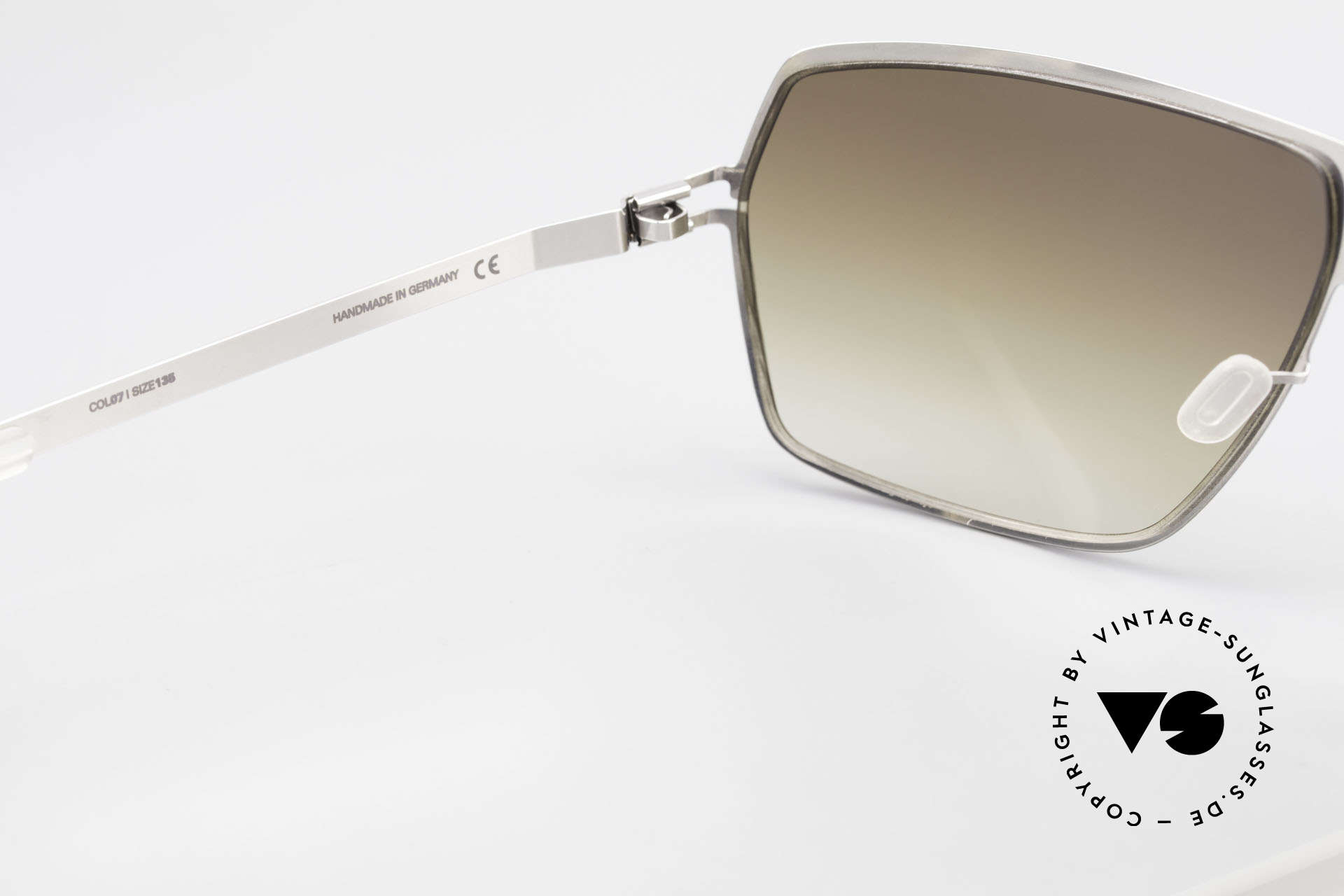 Mykita Rock No1 Collection Sunglasses 2009, worn by many celebs (rare & in high demand, meanwhile), Made for Men