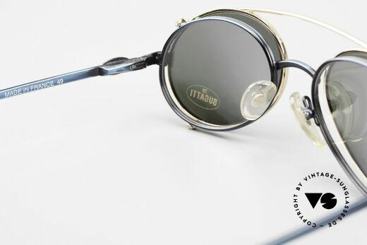Bugatti 05728 Rare 90's Eyeglasses Clip On, NO RETRO EYEGLASSES, but a precious old ORIGINAL, Made for Men