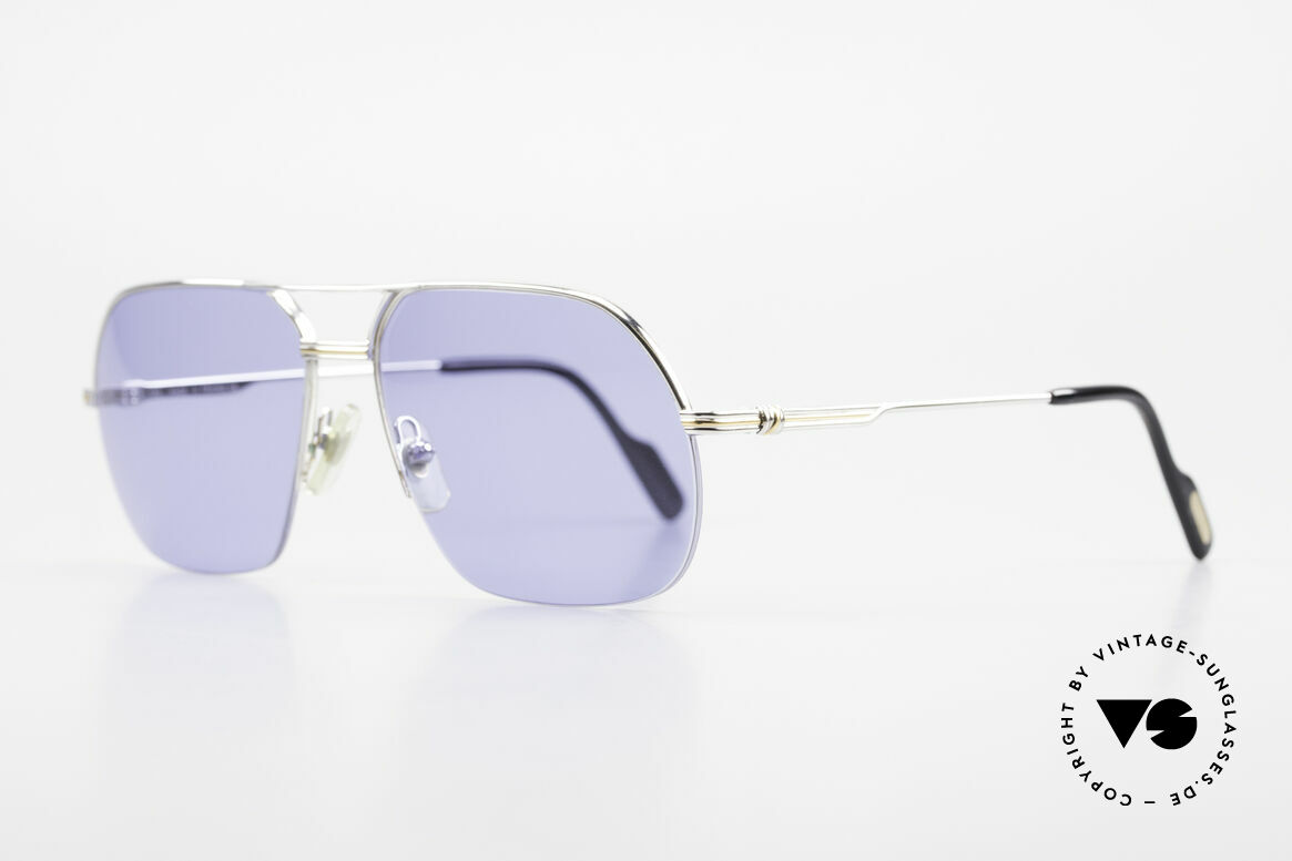 Cartier Orsay Luxury Vintage Sunglasses, luxury Cartier half-frame, -lightweight and flexible, Made for Men