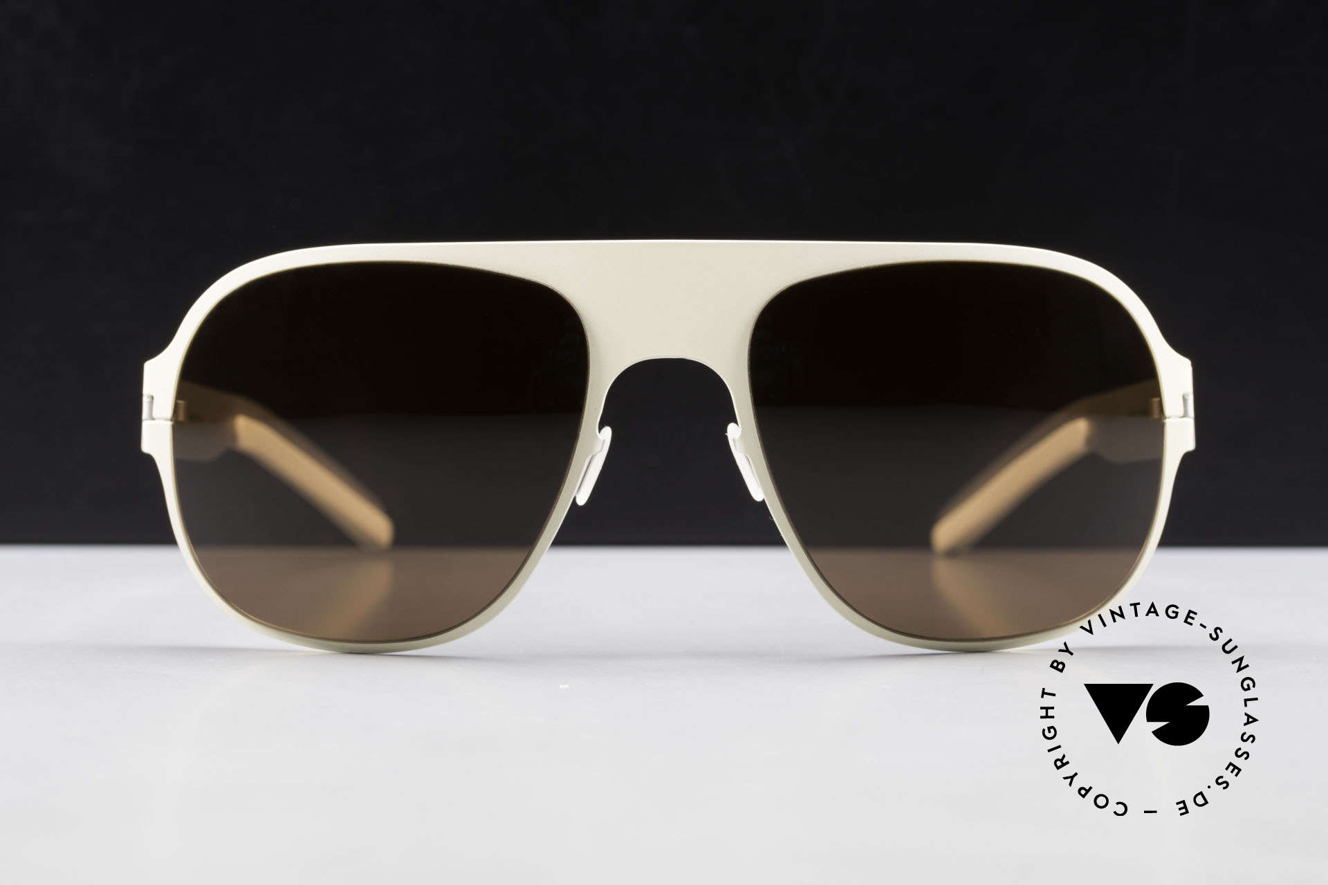 Mykita Rodney Limited Designer Sunglasses, innovative and flexible metal frame = One size fits all!, Made for Men