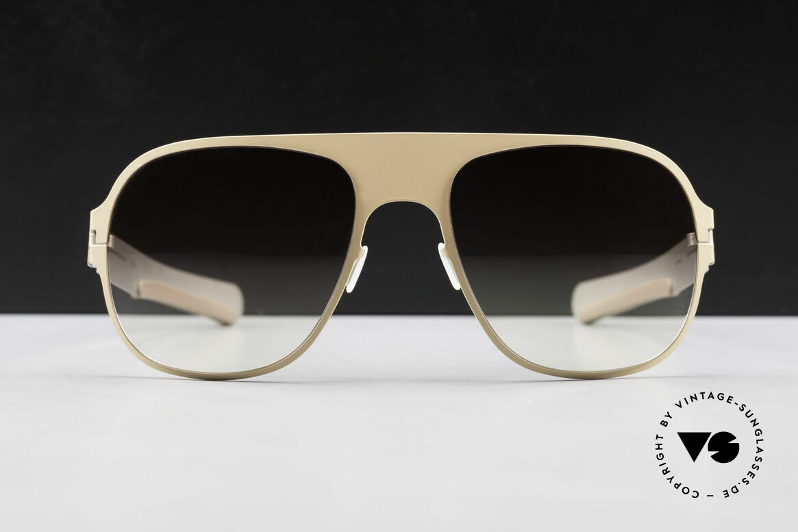 Mykita Rodney Designer Sunglasses Limited, innovative and flexible metal frame = One size fits all!, Made for Men