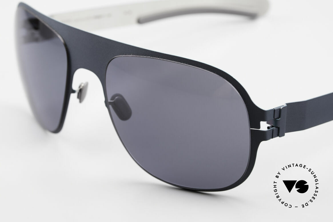 Mykita Rodney Limited Sunglasses From 2011, innovative and flexible metal frame = One size fits all!, Made for Men