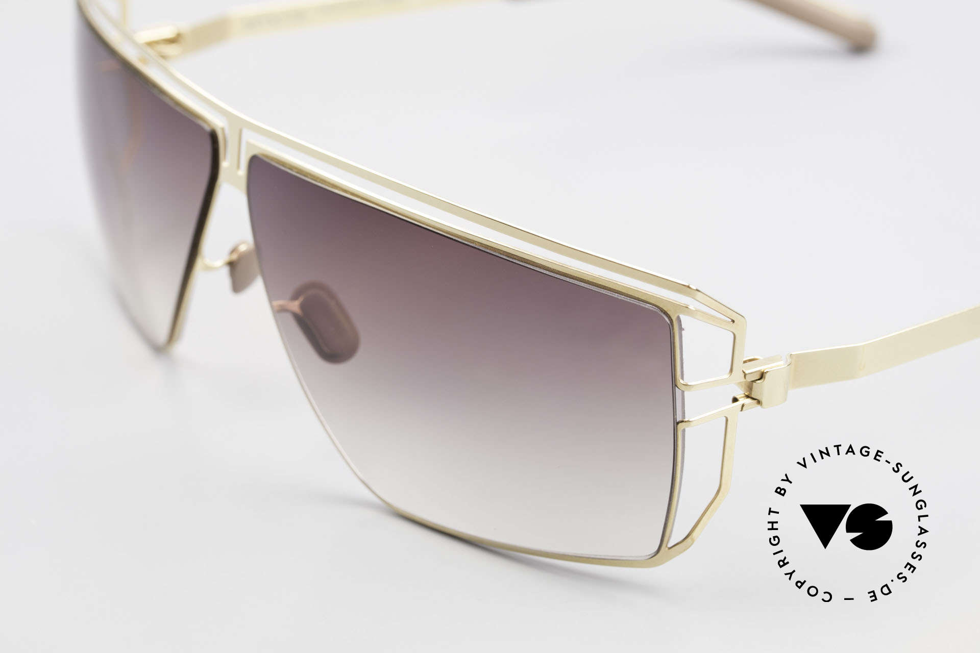 Mykita Anais Ladies Sunglasses From 2007, innovative and flexible metal frame = One size fits all!, Made for Women