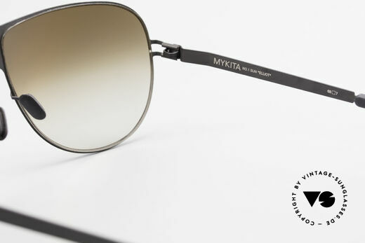 Mykita Elliot Mykita Tom Cruise Sunglasses, with non-reflecting and half-mirrored ZEISS sun lenses, Made for Men