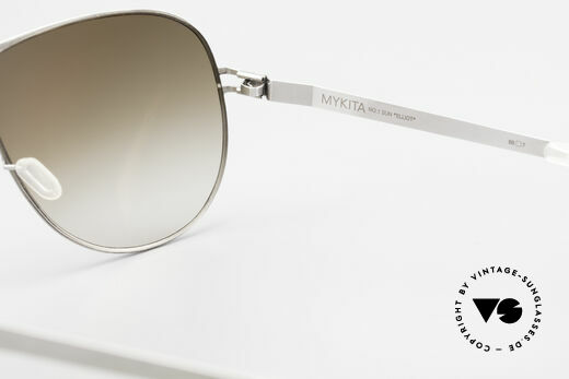 Mykita Elliot 2011 Tom Cruise Aviator Shades, non-reflecting sun lenses by ZEISS (100% UV protection), Made for Men