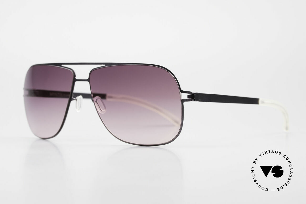 Mykita Rolf Angelina Jolie Mykita Shades, Mod. No.1 Sun Rolf Black, purple-gradient, size 59/12, Made for Men and Women