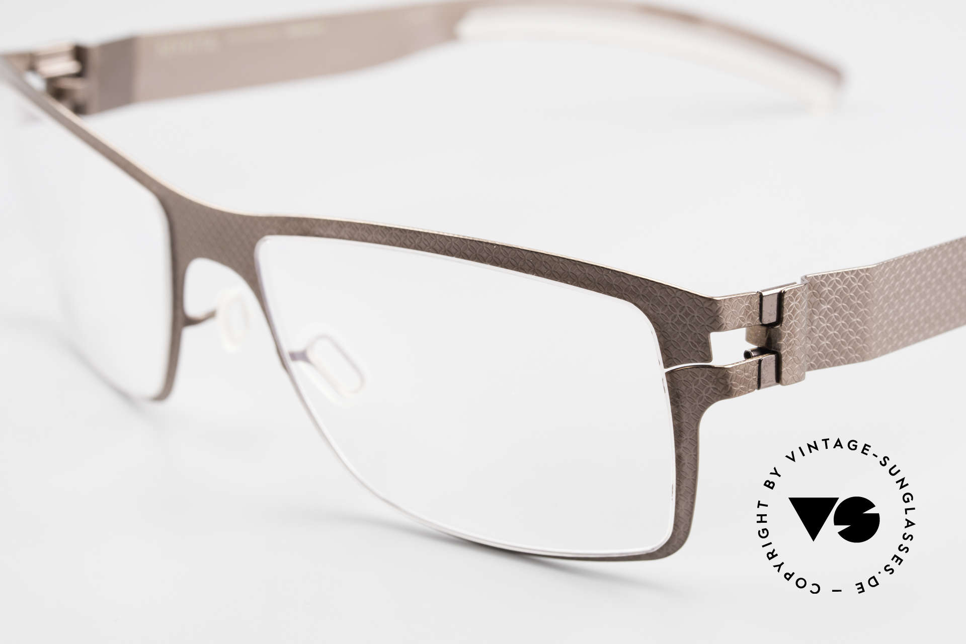 Mykita Bernhard Mykita Vintage Eyeglasses 2009, innovative and flexible metal frame = One size fits all!, Made for Men