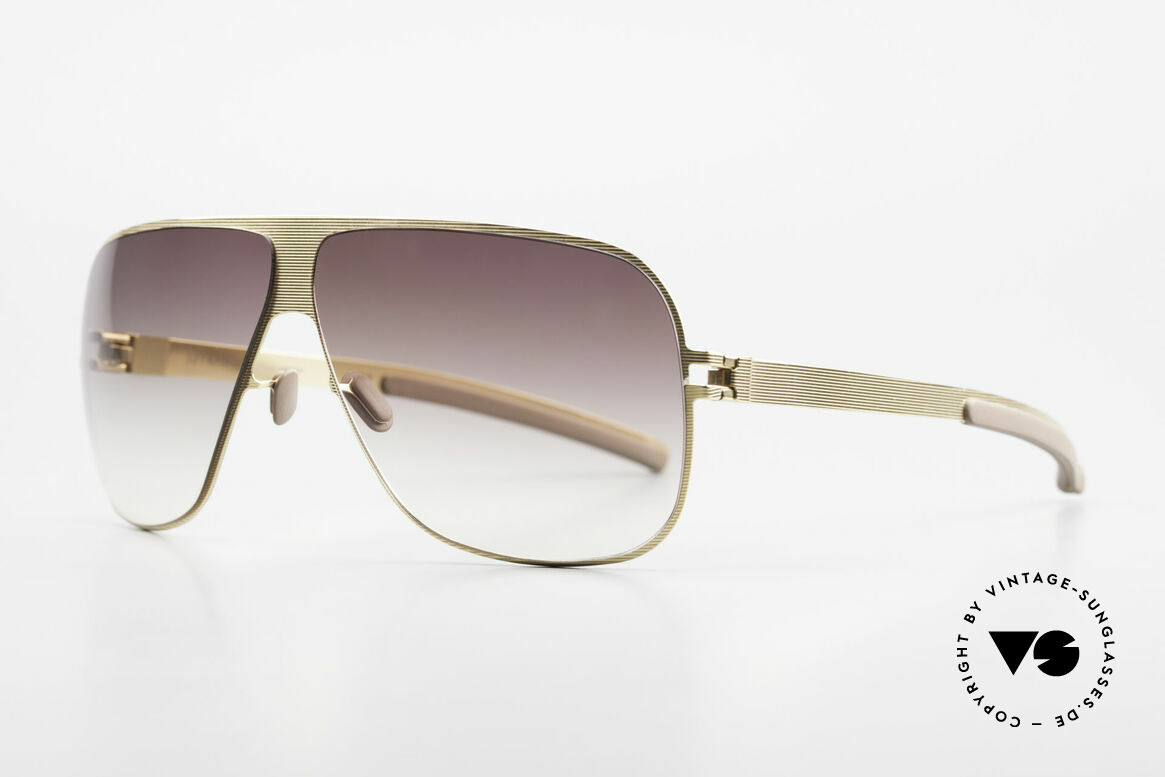 Mykita Hector Vintage Mykita Frame From 2009, Collection No.1 Hector Goldline, brown-gradient, 65/8, Made for Men
