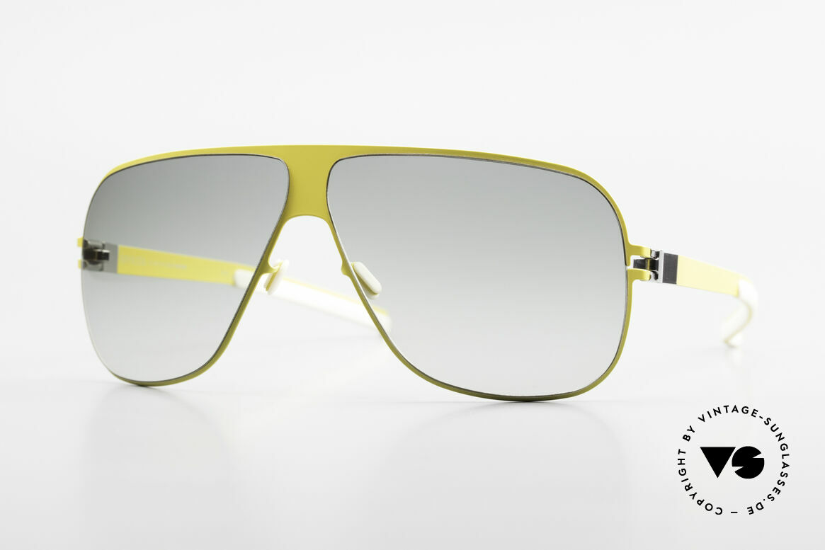 Mykita Hector Aviator Mykita Shades 2009's, original VINTAGE Mykita aviator sunglasses from 2009, Made for Men