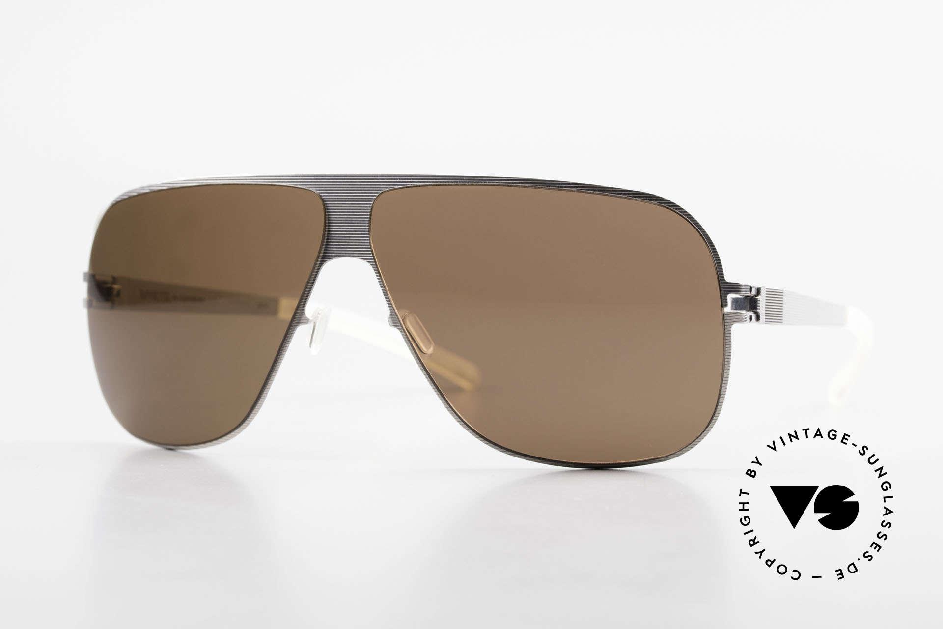 Mykita Hector Aviator Men's Sunglasses 2009's, original VINTAGE Mykita aviator sunglasses from 2009, Made for Men