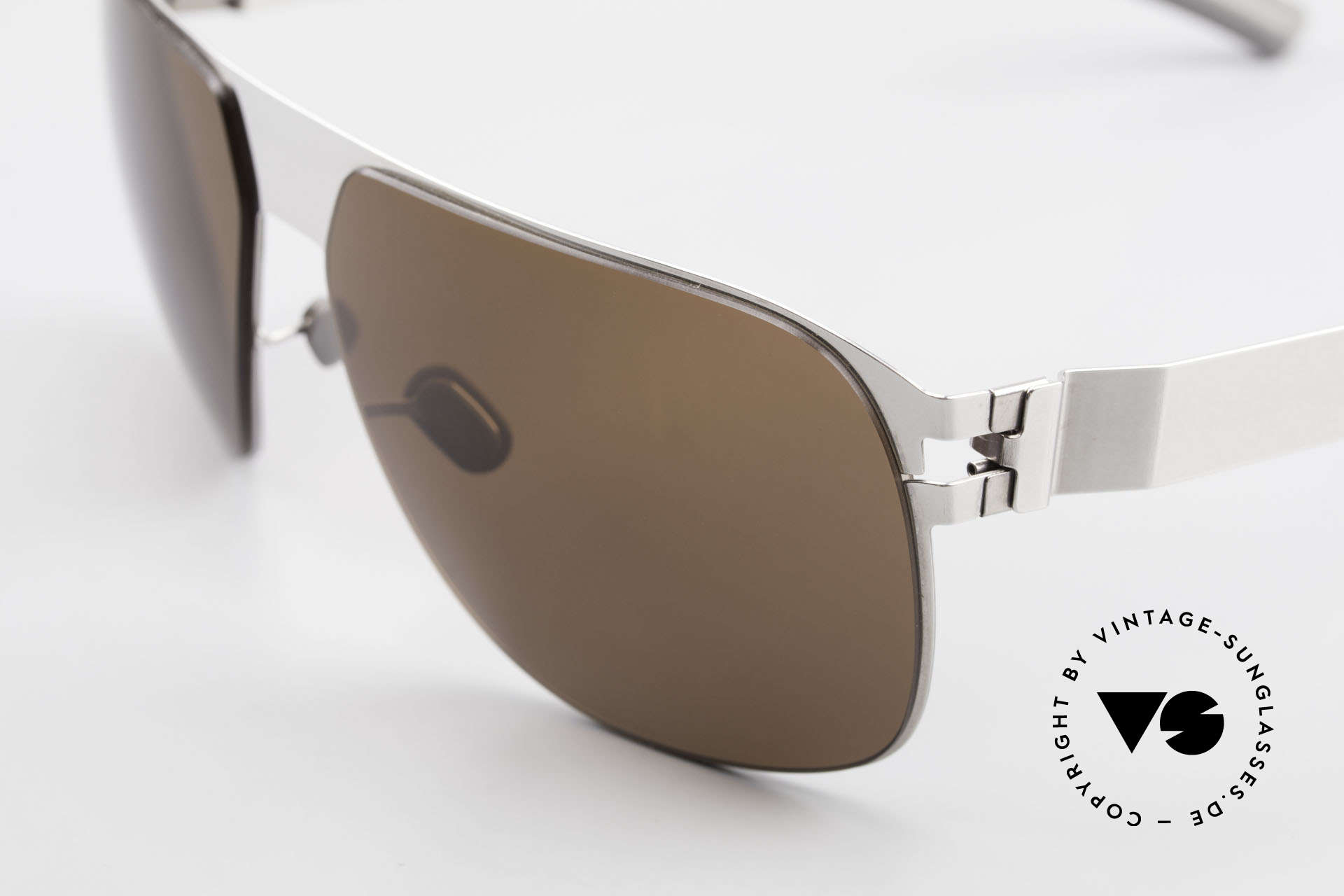 Mykita Tim Vintage Designer Shades 2011's, innovative and flexible metal frame = One size fits all!, Made for Men