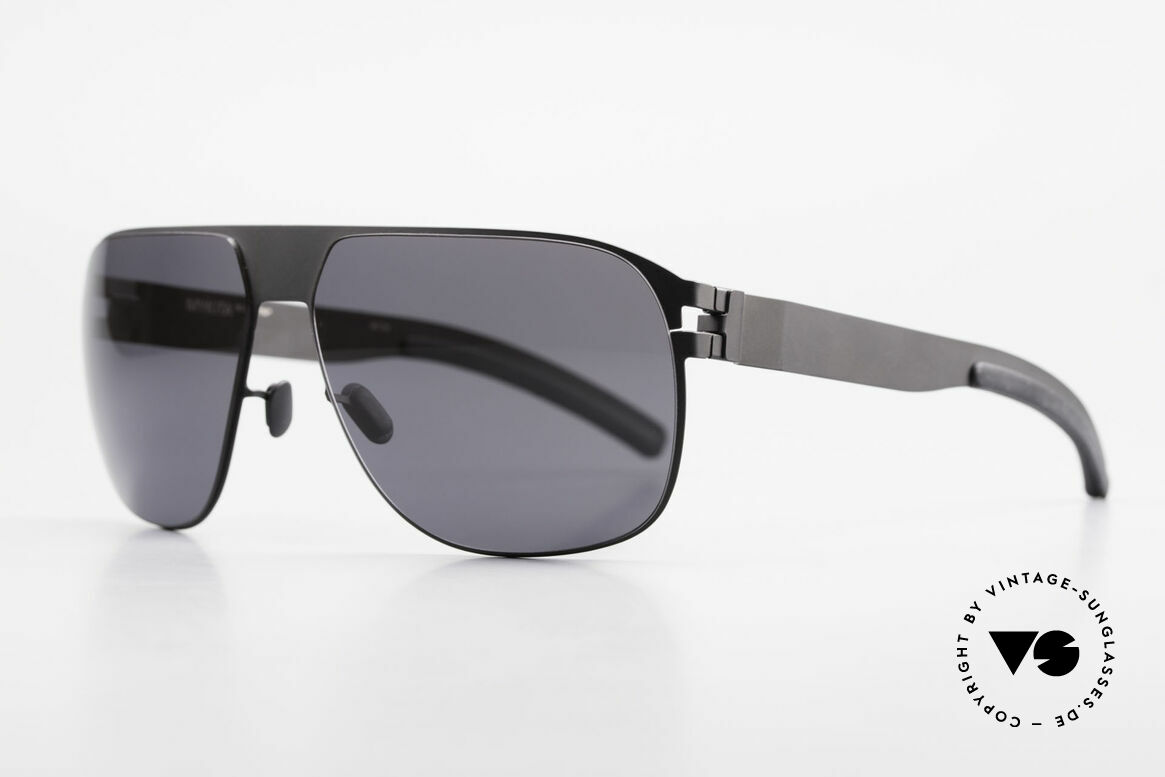 Mykita Tim No 1 Collection Shades 2011's, Model No.1 Sun Tim Black, black solid, size 61/14, 140, Made for Men