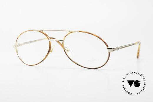 Bugatti 14782 Luxury 80's Eyeglass-Frame Details