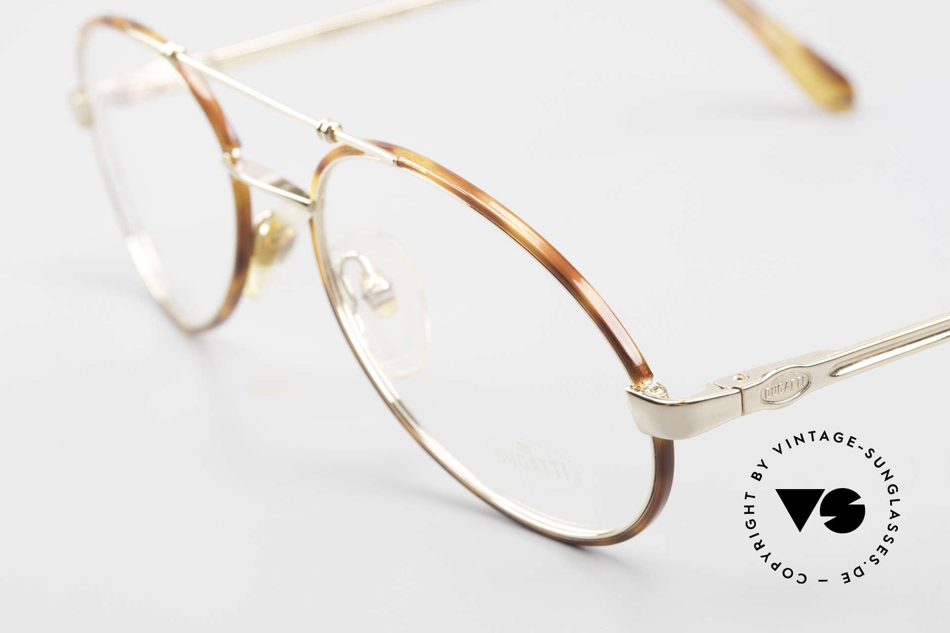 Bugatti 14782 Luxury 80's Eyeglass-Frame, unworn rarity (like all our vintage Bugatti glasses), Made for Men