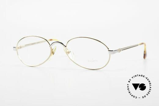 Bugatti 15708 Oval 90's Vintage Specs Rare Details