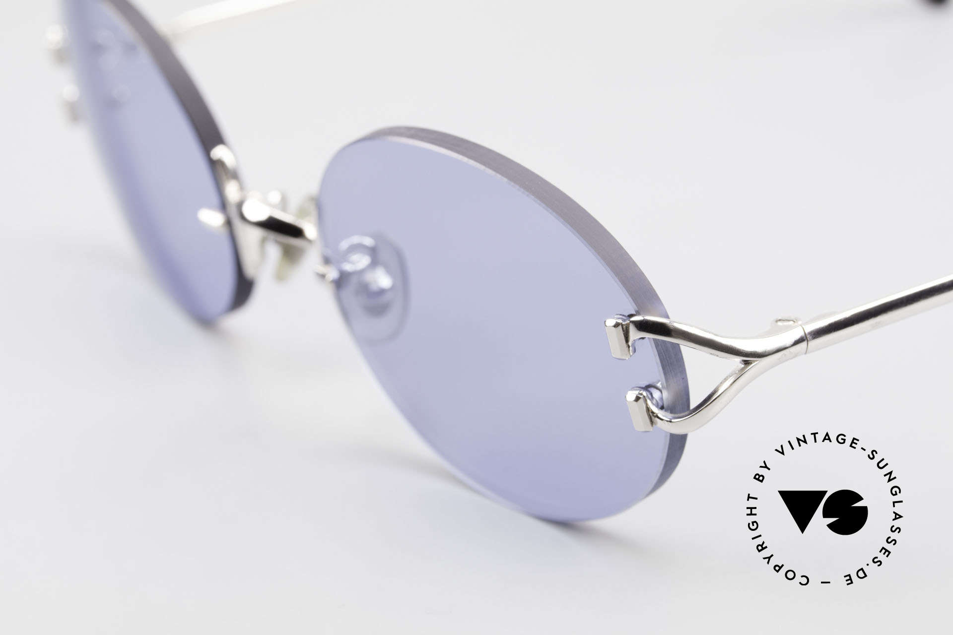 Cartier Rimless Giverny Oval Rimless Luxury Shades, customized lenses are identical like model 'Giverny', Made for Men and Women