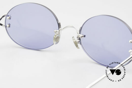 Cartier Rimless Giverny Oval Rimless Luxury Shades, Medium size, customized by our optician, single item, Made for Men and Women