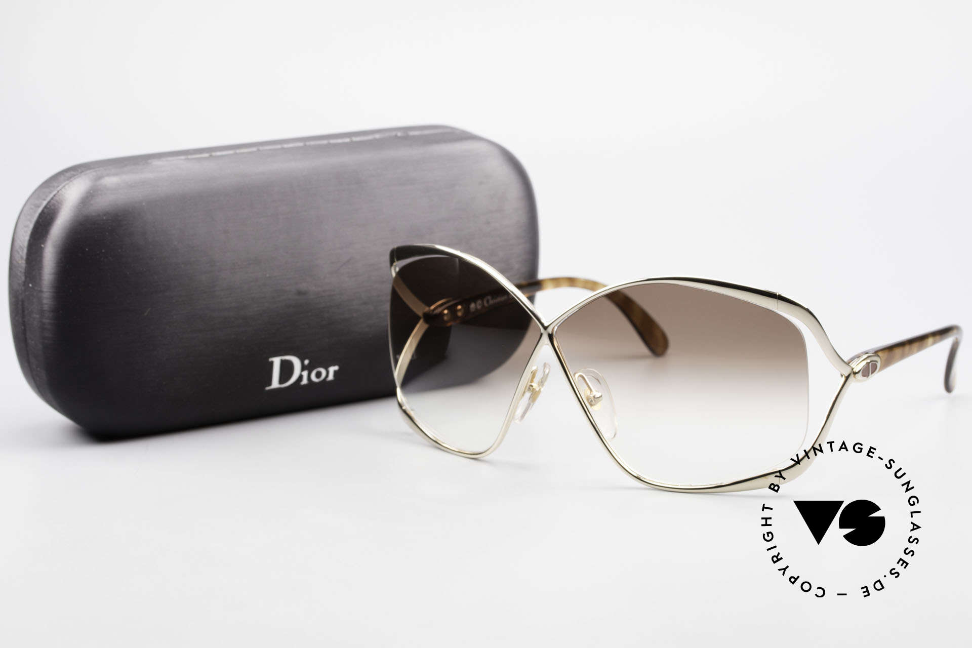 Christian Dior 2056 80's Butterfly Sunglasses, Size: medium, Made for Women