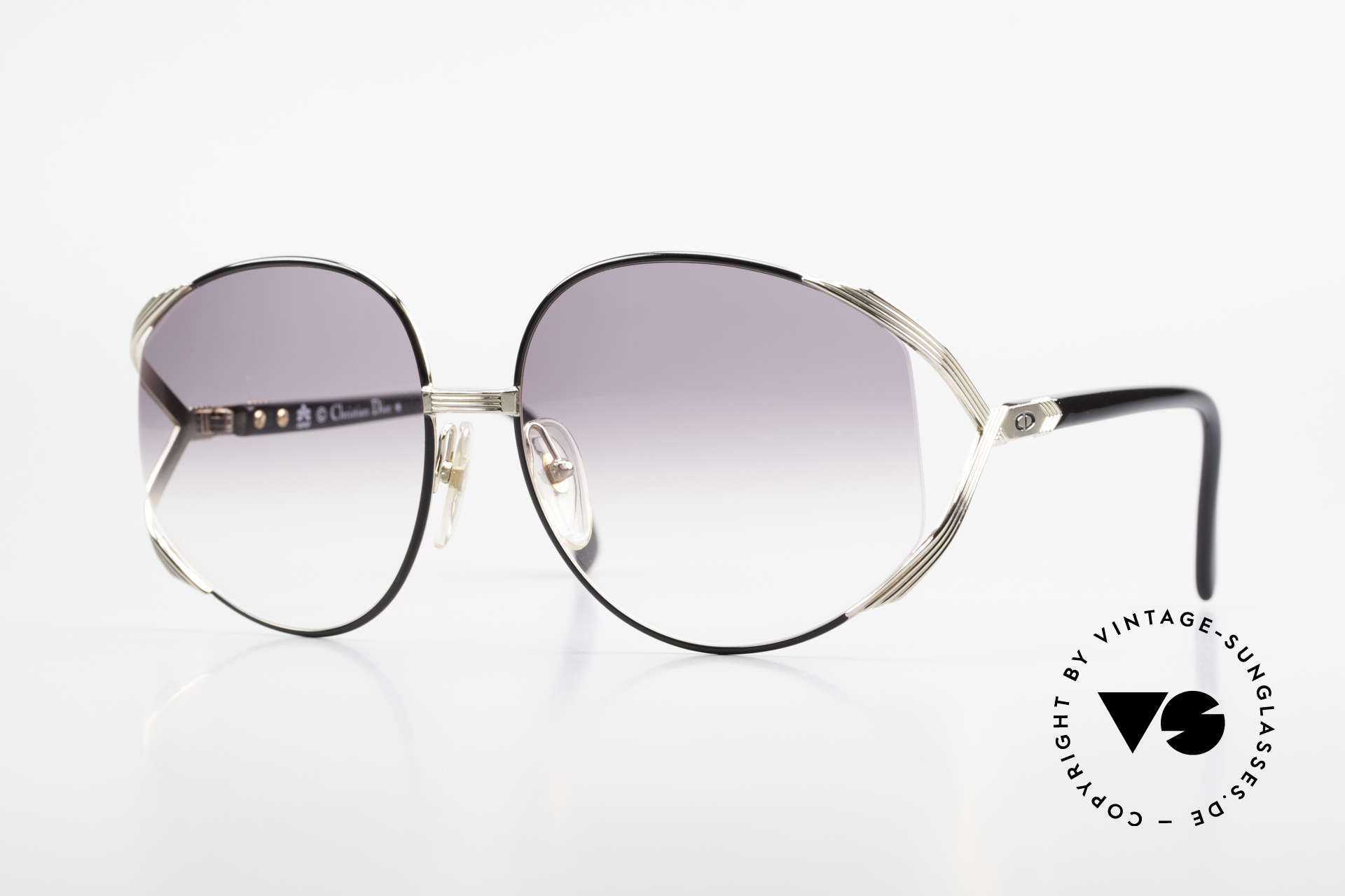 Christian Dior 2250 XL Oversized Shades 80's Ladies, oversized XL vintage ladies sunglasses by Christian Dior, Made for Women