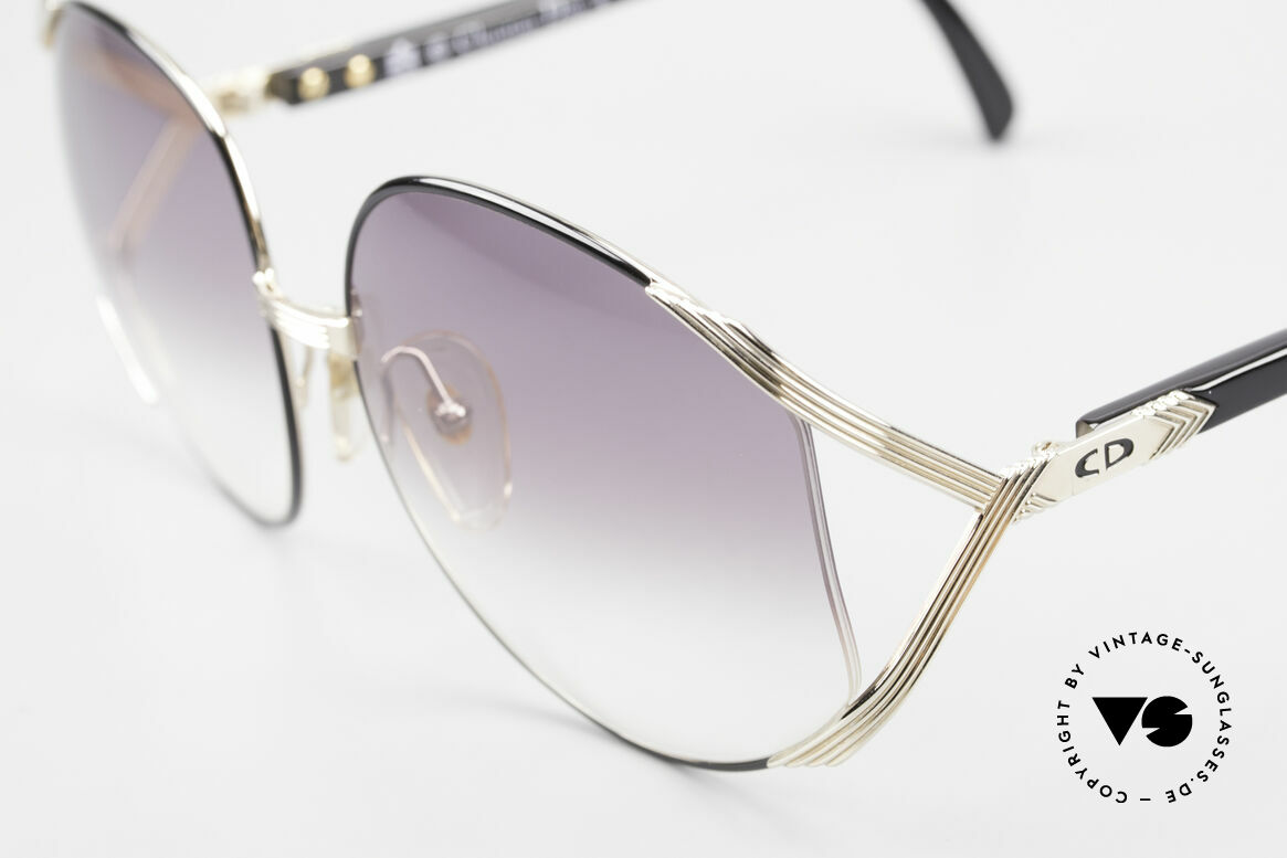 """Christian Dior 2250 XL Oversized Shades 80's Ladies, worn by actor Amy Adams (movie """"American Hustle"""" 2013), Made for Women"""