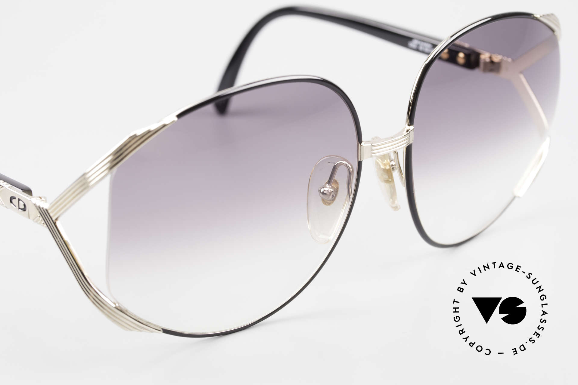 """Christian Dior 2250 XL Oversized Shades 80's Ladies, and by Rihanna on her """"Man Down"""" single cover in 2011, Made for Women"""