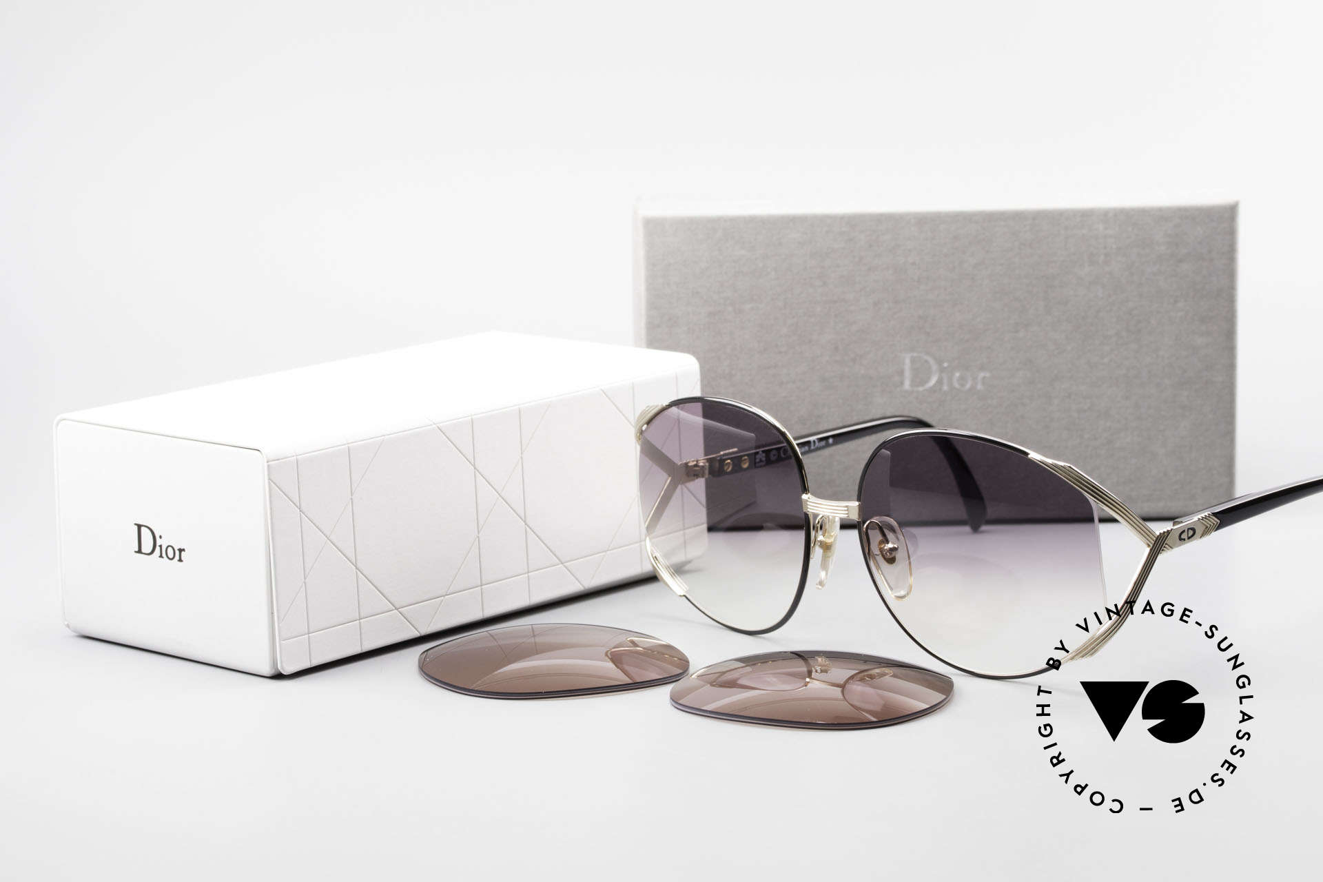 Christian Dior 2250 XL Oversized Shades 80's Ladies, Size: large, Made for Women