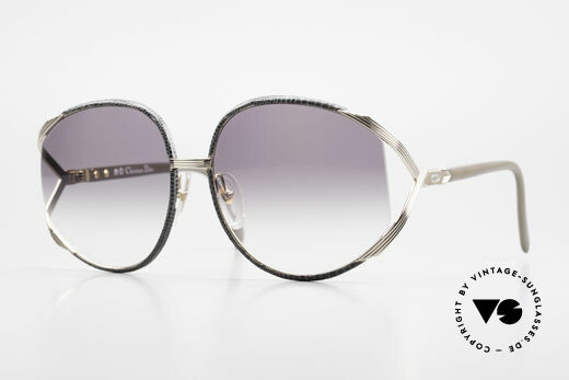 Christian Dior 2250 Rihanna Leather Sunglasses Details