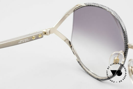 Christian Dior 2250 Rihanna Leather Sunglasses, unworn rarity (with Dior case and 1 pair of extra lenses), Made for Women