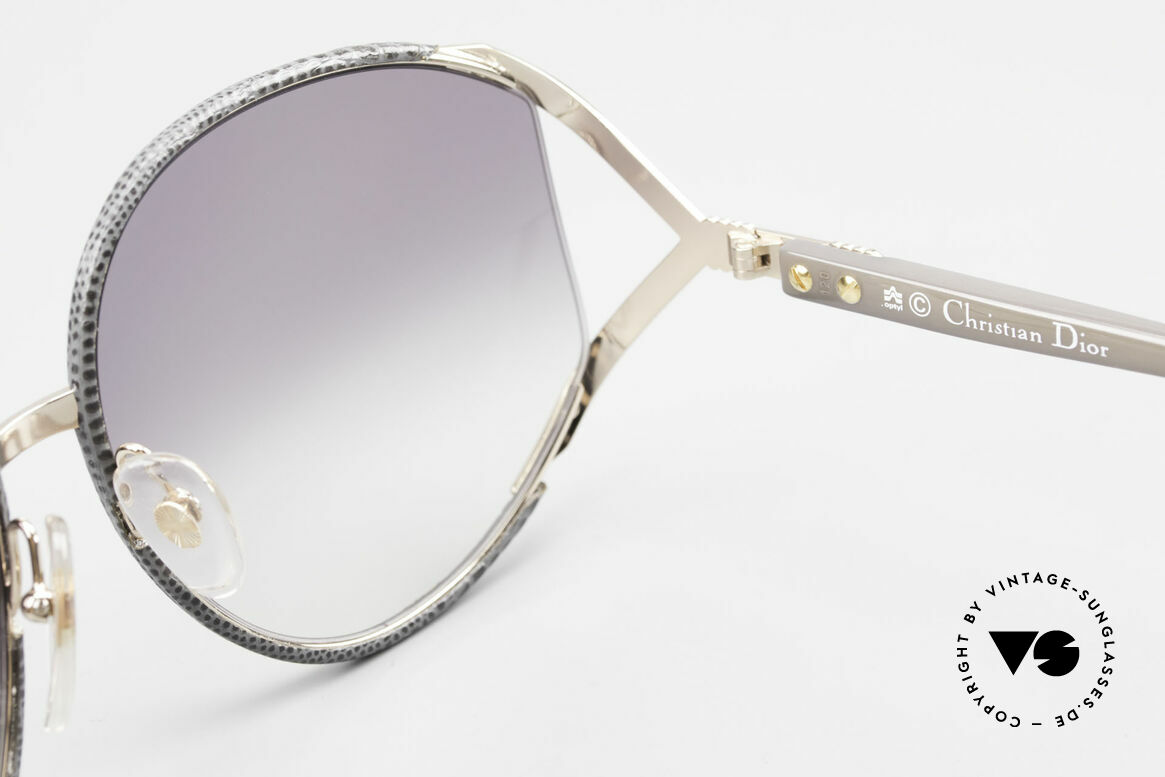 Christian Dior 2250 Rihanna Leather Sunglasses, Size: large, Made for Women