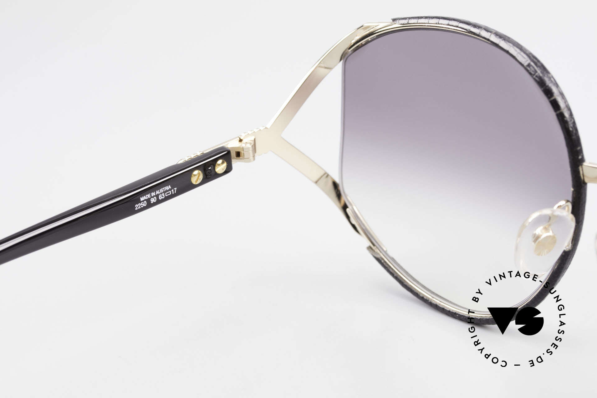 Christian Dior 2250 Rihanna Sunglasses Leather, unworn rarity (with Dior case and 1 pair of extra lenses), Made for Women