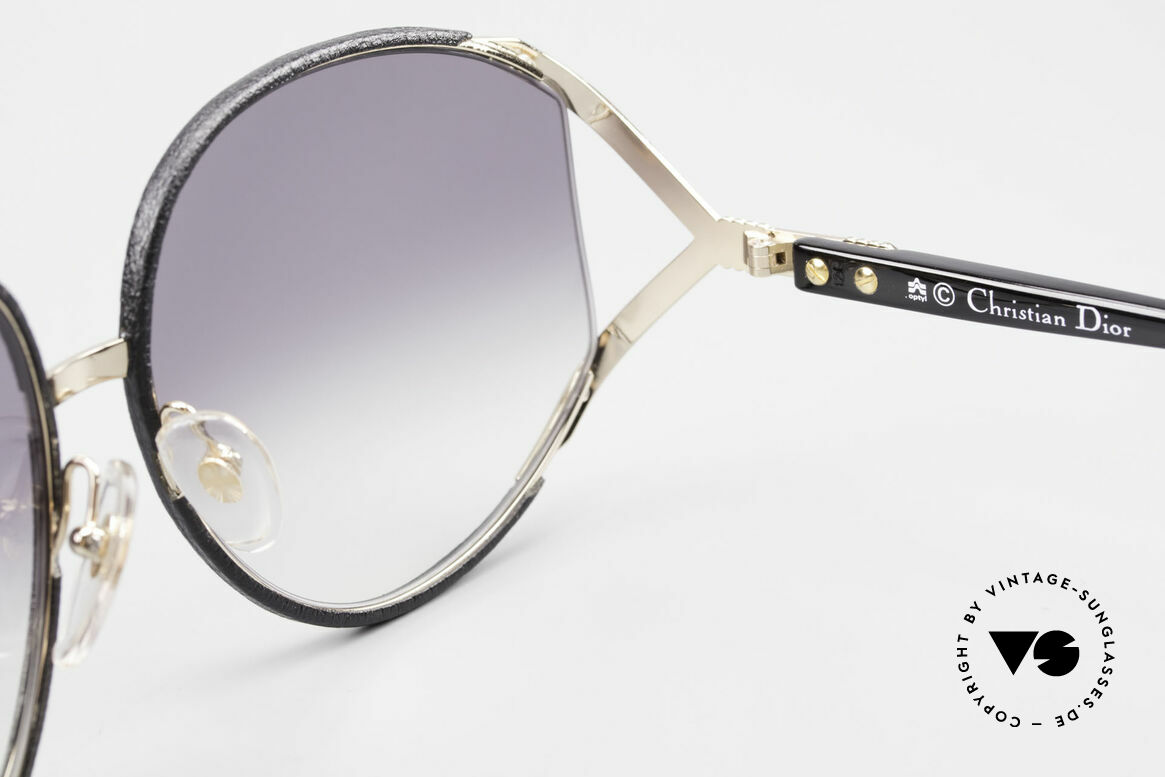 Christian Dior 2250 Rihanna Sunglasses Leather, Size: large, Made for Women