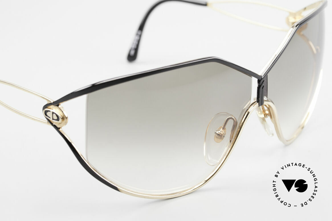 Christian Dior 2345 Designer Sunglasses Ladies, NO retro fashion, but an old rarity from 1991, Made for Women