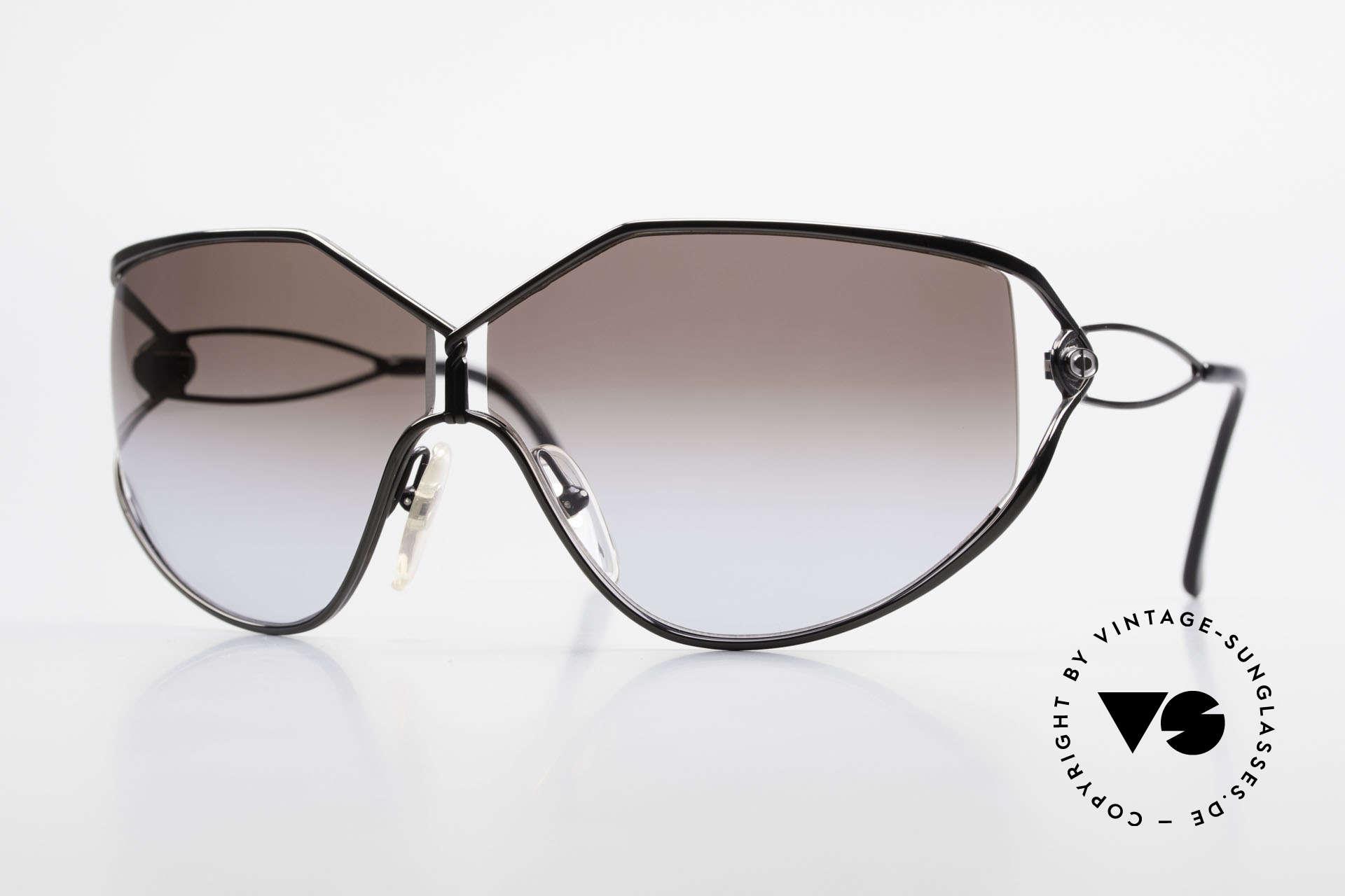 Christian Dior 2345 Ladies Designer Sunglasses 90s, oversized vintage DIOR designer sunglasses, Made for Women