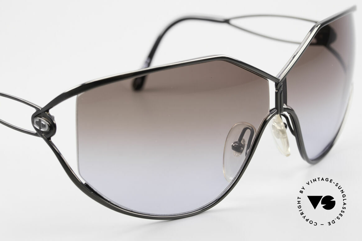 Christian Dior 2345 Ladies Designer Sunglasses 90s, NO retro fashion, but an old rarity from 1991, Made for Women