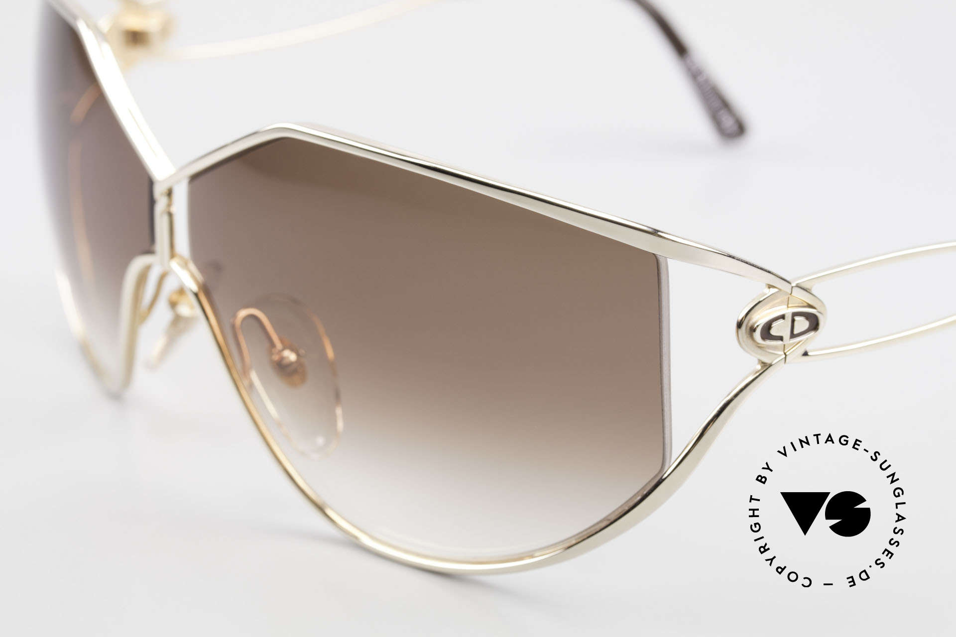 Christian Dior 2345 Ladies 90s Designer Sunglasses, never worn (like all our vintage DIOR shades), Made for Women