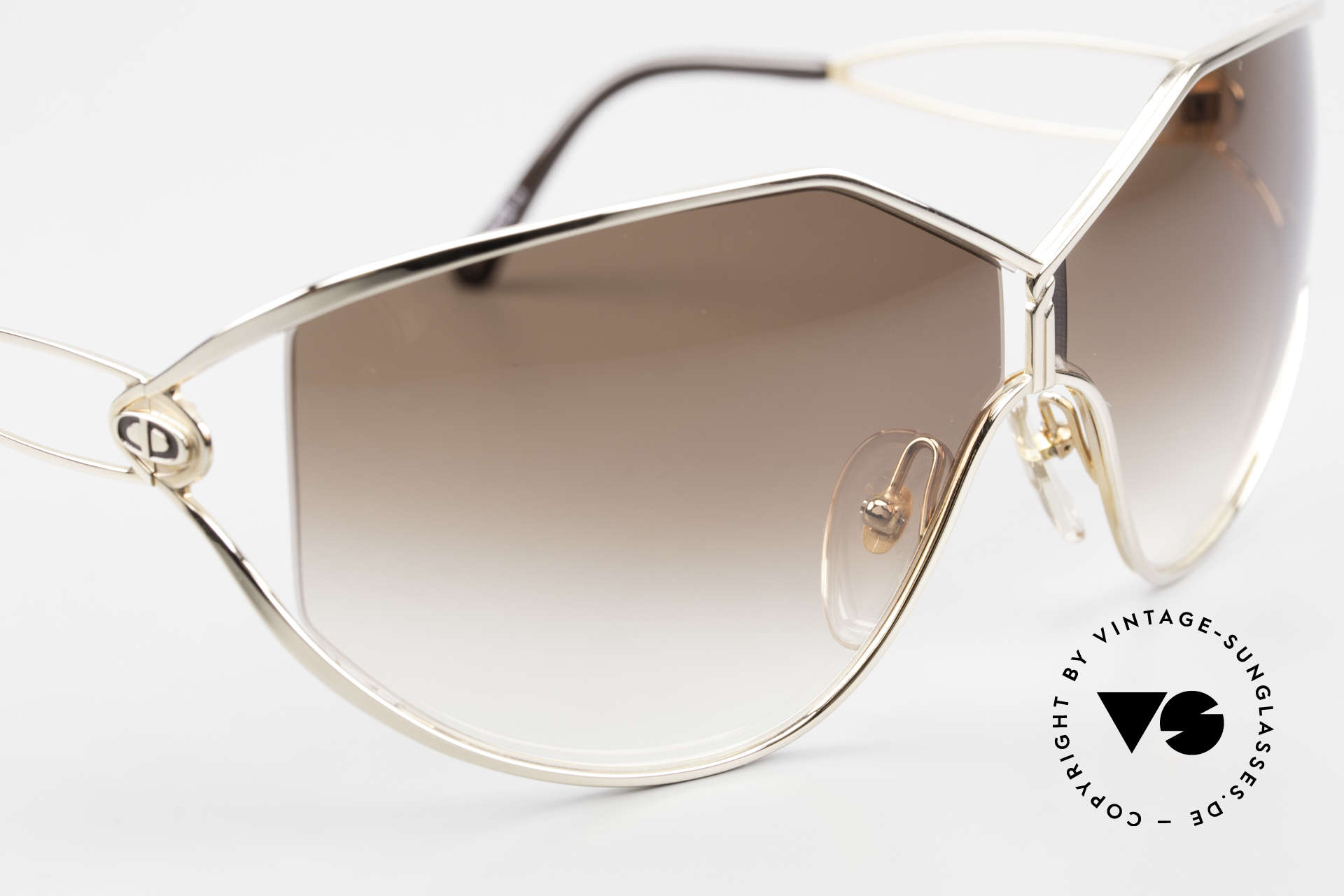 Christian Dior 2345 Ladies 90s Designer Sunglasses, NO retro fashion, but an old rarity from 1991, Made for Women