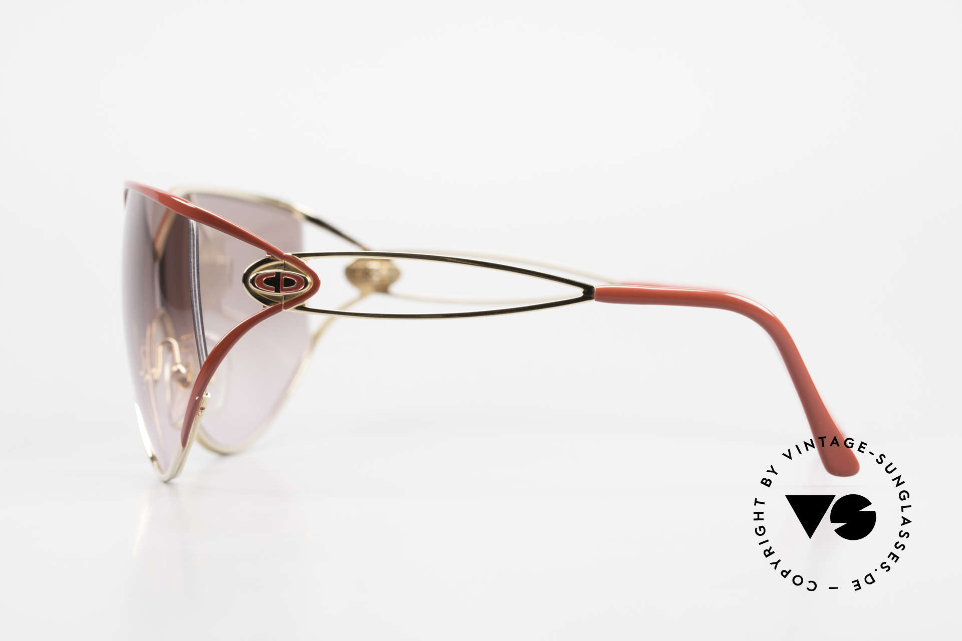 Christian Dior 2345 90s Designer Sunglasses Ladies, NO retro fashion, but an old rarity from 1991, Made for Women