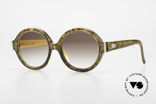 Christian Dior 2446 Round 80's Sunglasses Ladies Details